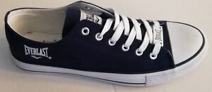 SCARPE EVERLAST sneakers modello converse low all star uomo blu in tela EV202