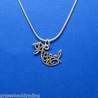 Angel Heart 925 Sterling Silver Necklace Chain Charm-pendant 2008