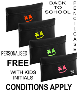 Marshmello-PENCILCASE-back-to-school-PERSONALISED-FREE-conditions-apply
