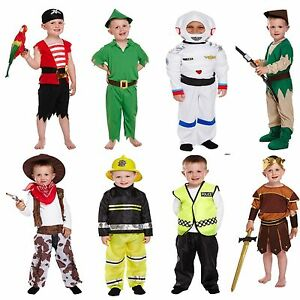 toddler boys fancy dress up costumes party outfit world book day kids age 3 new ebay. Black Bedroom Furniture Sets. Home Design Ideas