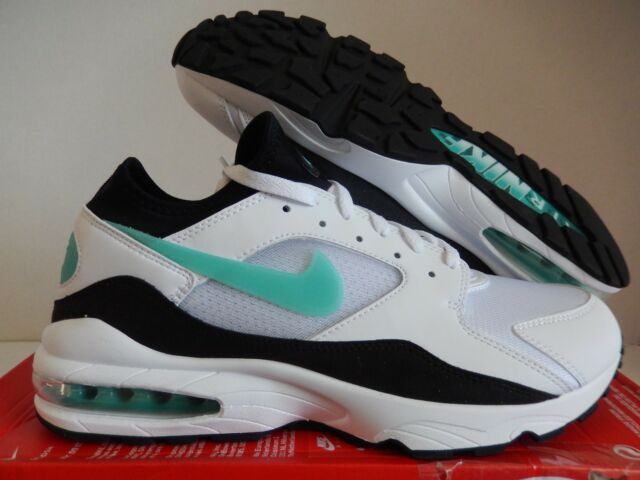 5c5dc5593db ... shopping nike air max 93 white sport turquoise black sz 13 306551 107  94a73 930aa