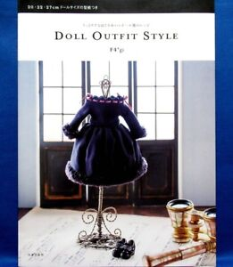 Poupee-costume-style-Japanese-Doll-Clothes-Pattern-Book-Brand-New