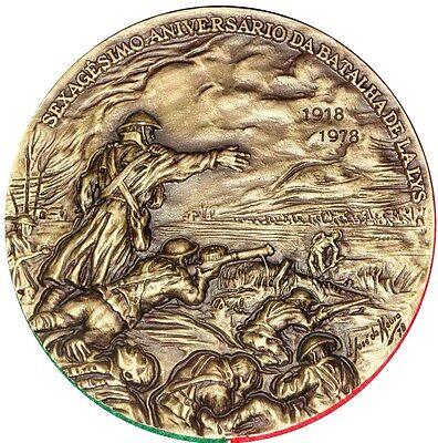 De Moura M33 Orderly Battle Big Bronze Medal By Jos World War I Battle Of Lalys