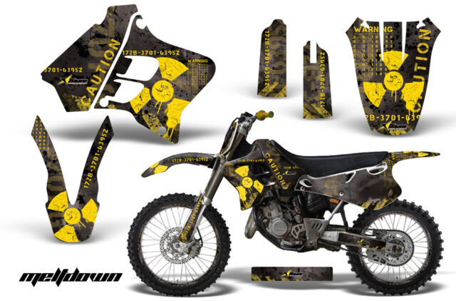 Graphic Kit Decal Sticker Wrap + # Plates For Yamaha YZ125 YZ250 93-95 MLTDN Y K