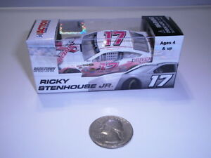 2013-1-64-Ricky-Stenhouse-17-DRIVEN-PINK-Diecast-Car-ROOKIE
