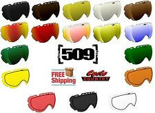 509 AVIATOR GOGGLE REPLACEMENT LENS DUAL PANE ANTI FOG SNOWMOBILE SNOWBOARD SKI
