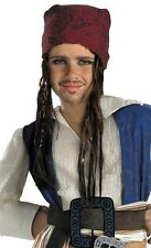 Jack Sparrow Headband Hair Pirates Caribbean Halloween Child Costume Accessory