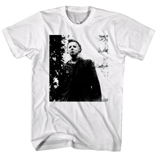 Halloween Horror Movie Michael Myers Masked Men/'s T Shirt Scary Haunted White