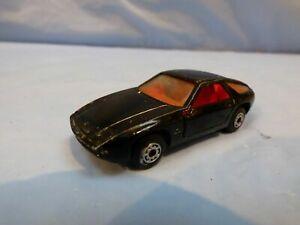 VINTAGE-1979-MATCHBOX-SUPERFAST-N-59-PORSCHE-928-Nero-Diecast-Auto-Giocattolo