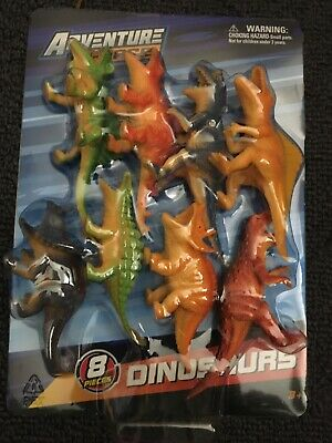 Adventure Force Sea Animals /& Dinosaurs 8pc Toy Sets