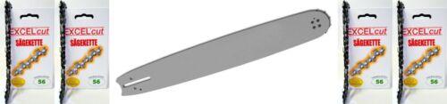 1 Schwert passend zu Dolmar 40 3//8 1,3 56 PS 3 34 33 4 Ketten 340 340 330