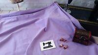 50cm LIGHT PURPLE Solid cotton lycra fabric 4 way stretch knit fabric 185cm wide