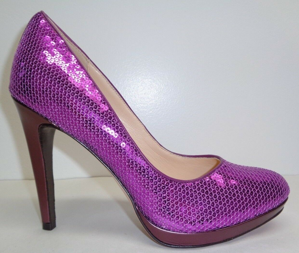 Cole Haan Taille 9 M Chelsea High Pump Masquerade Paillettes Talons NEW Chaussures Pointure