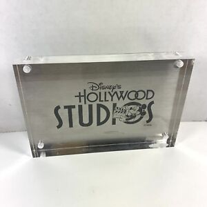 Disney Hollywood Studios Magnetic Acrylic Picture Photo Frame