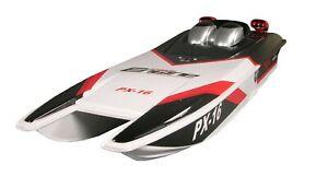 RC-Rennboot-Speedboot-Storm-Engine-PX16-81cm-Lang-2-4-GHz-Komplettset-inkl-Akku