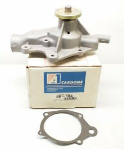 58-104 A1 Cardone Remanufactured Engine Water Pump 58104 Free Shipping