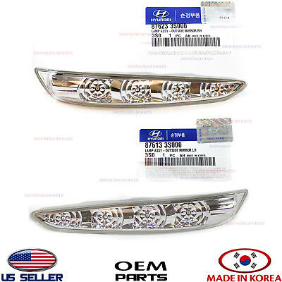 Right Exterior Genuine OEM Hyundai 87623-3S000 Mirror Lamp Assembly