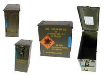 Scatola munizioni UN0328 oliva usato Cassa stoccaggio Geocaching metallo
