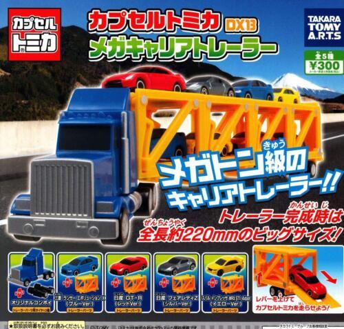 TTA Tomica DX13 mega-carrier trailer Gashapon 5 set mini figure capsule toys