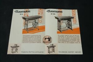 Age-Print-Naumann-Sewing-Machines-Old-Vintage-Advertisement-Advertising