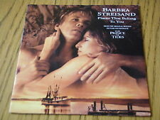 "BARBRA STREISAND - PLACES THAT BELONG TO YOU      7"" VINYL PS"