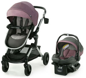 Graco Modes Nest Travel System Stroller With Snugride 35 Elite Car Seat Norah Ebay
