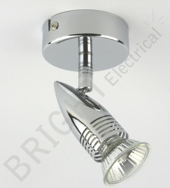 1 2 3 4 6 Head Spot Light Bar Fitting Single Twin Double Triple Ceiling Light