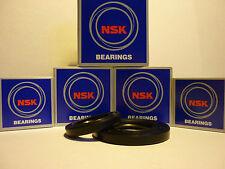 SUZUKI GSXR1100 WP-WS 93-95 OEM SPEC NSK FRONT & REAR WHEEL BEARINGS & SEALS