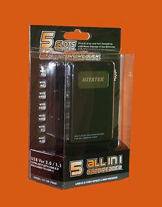 Hiyatek-5-slots-all-in-1-usb-2-0-haute-vitesse-lecteur-de-carte-pour-tous-les-carte-memoire-neuf