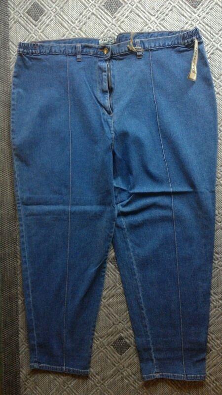 Damen Stretch Jeans, Gr. 56, Blau, Von John F. Gee, Normalgröße Neu ( 3577 )