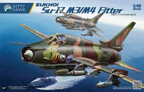 Kitty Hawk 1//48 Sukhoi Su-17M3//M4 # 80144