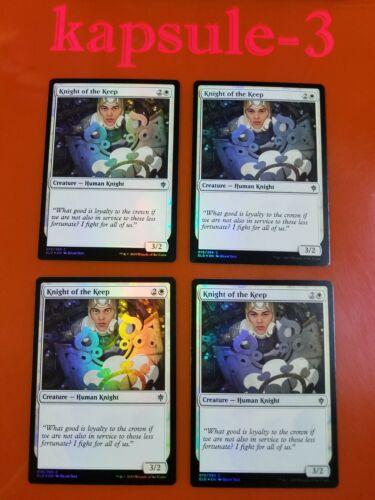 4x Knight of the KeepFOILThrone of EldraineMTG Magic