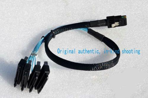 MiniSAS Line 1 min 4 SFF-8087 on 4 SFF-8482 1 to SAS SATA cable