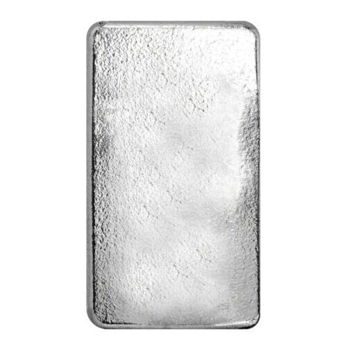 10 oz Eagle Design Silver Cast Bar .9999 Fine