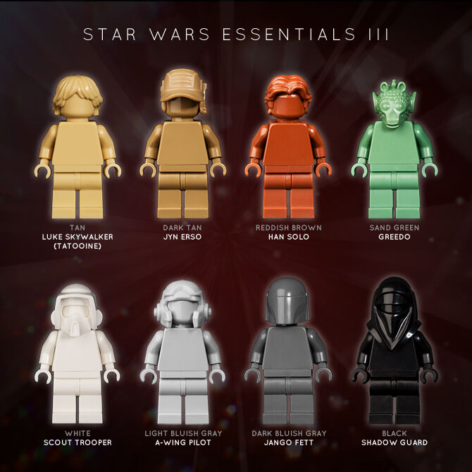LEGO MONOFIGS  STAR WARS ESSENTIALS III