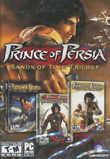 PRINCE OF PERSIA Sands of Time TRILOGY 3X PC Games NEW!