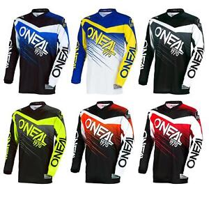 ONEAL-Element-RACEWEAR-MX-MOTO-CROSS-JERSEY-SHIRT-ENDURO-MTB-DOWNHILL-MOTO