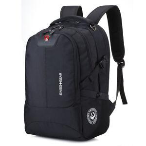 "SWISS GEAR 15.6"" Business Laptop Backpack School Bag Travel Backpack Briefcase"