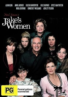Jake's Women DVD Based on a Neil Simons Play Alan Alda, Anne Archer
