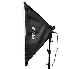 "20x28"" Studio Light Photography Softbox For 4 Socket E27 Lamp Bulb Head"