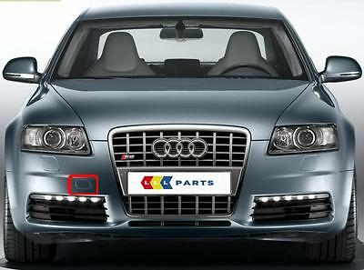 AUDI A6 4F 08-11 NEW FRONT BUMPER TOW HOOK CAP NEW GENUINE NEW CHOOSE YOUR COLOR