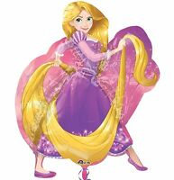 Disney Rapunzel Supershape Foil Balloon Girls Birthday Party Decoration Supplies