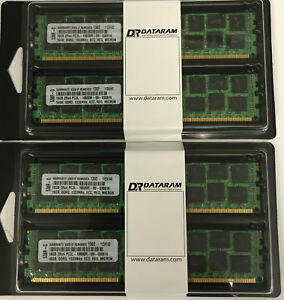 64GB 4x16GB DDR3 PC3-8500R 4Rx4 ECC Reg Server Memory RAM Dell PowerEdge M620