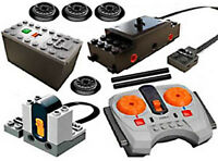 Lego Winter Holiday Train Remote/motor Kit: Battery,box,receiver,power,functions