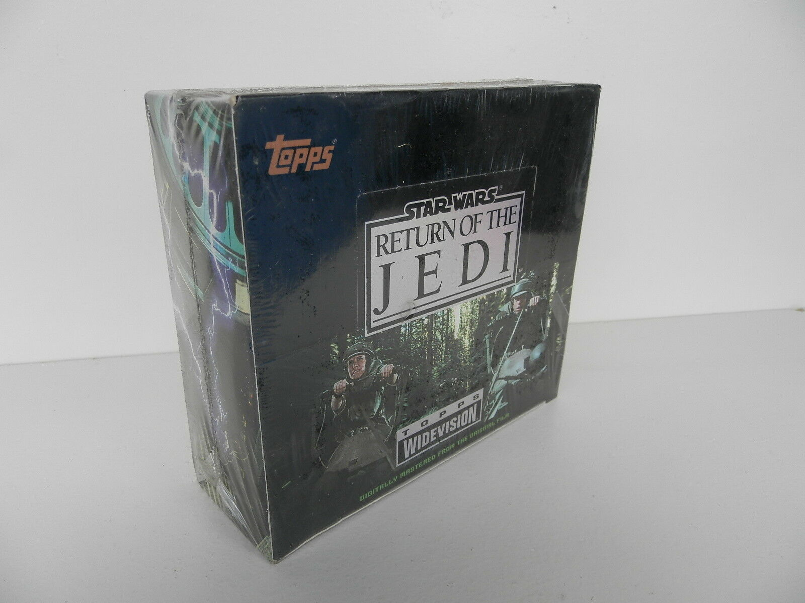 STAR WARS  RÜCKKEHR OF THE JEDI  WIDEVISION KARTEN - TOPPS 1995 SEALED BOX