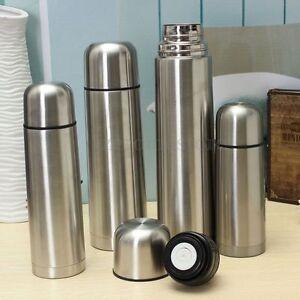 Termo-de-acero-inoxidable-de-vacio-frasco-de-bala-Calido-Caliente-Fria-350-500-750-1000-Ml-1L