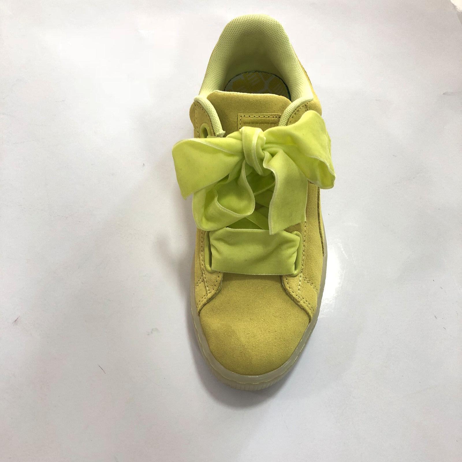zapatos Puma mujer - Suede Heart Reset Reset Reset - Limoncello - 363229  Descuento del 70% barato