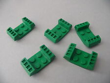 Lego plates modifiees vertes set 4594 / 5 green plate modified