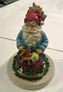 Christmas-Santa-039-s-of-the-World-Cookie-Stamp-Press-Sweden-Jultomten-Gnome