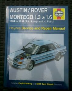 Austin-rover-montego-New-Haynes-workshop-manual-petrol-1984-1994-1-3-amp-1-6